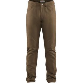 Fjällräven Greenland Miehet Pitkät housut , ruskea